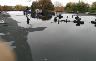 why my flat roof leaking
