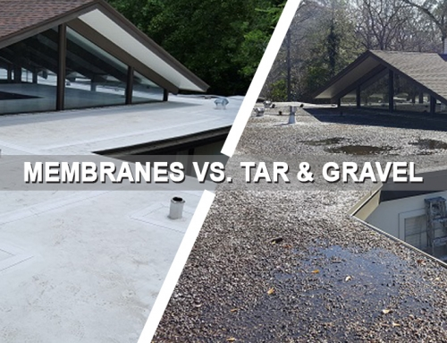 ROOFING: Membranes Are Better Than Tar And Gravel