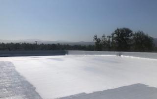 Aluminum reflective roof coatings or acrylic