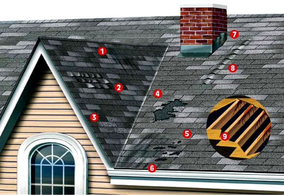 What to look for in the roof when you are buying a home