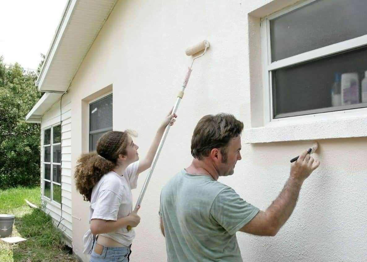 Exterior paint can increase value